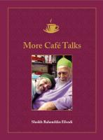 "Sheikh Bahauddin ""More Café Talks"""
